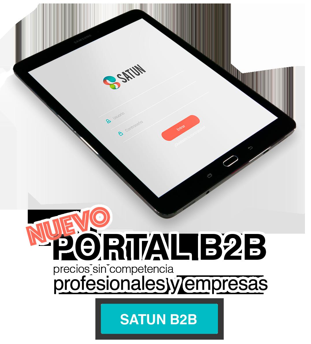 Portal B2B para profesionales